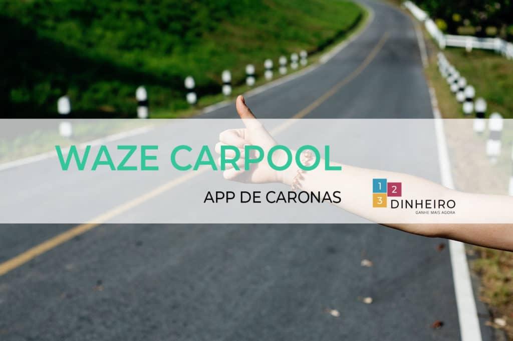 Waze caropool como funciona