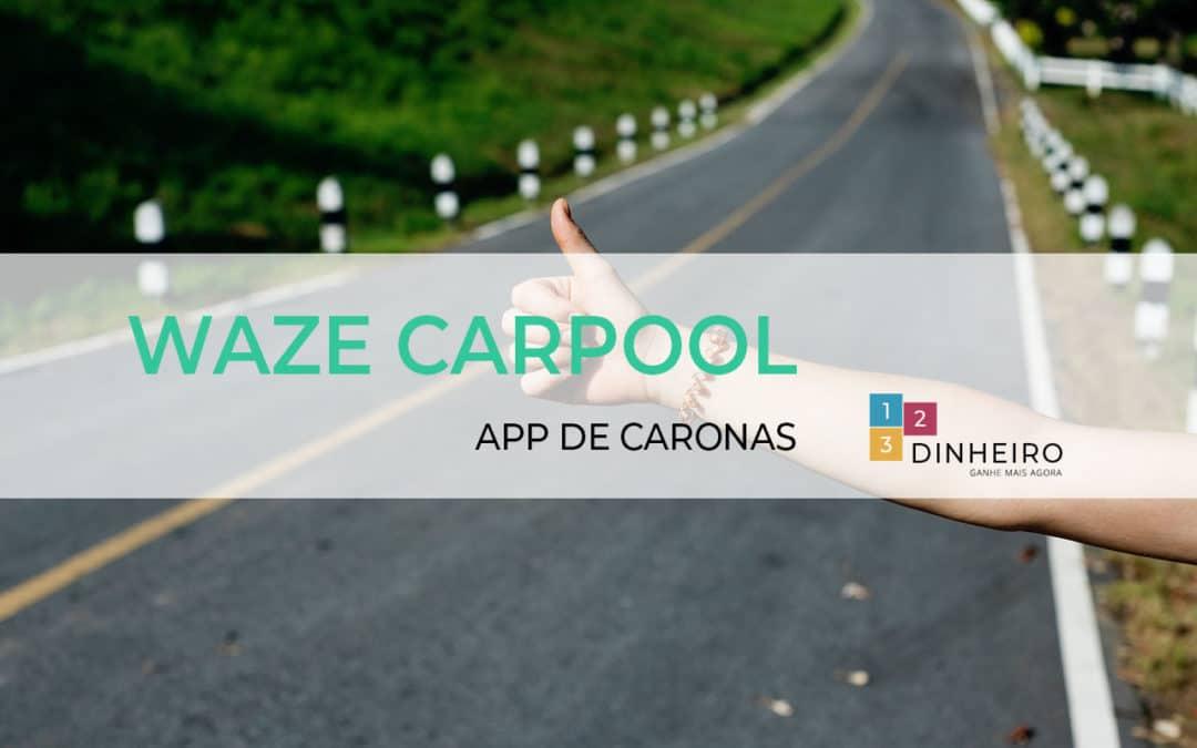 O que é Waze Carpool e como funciona?