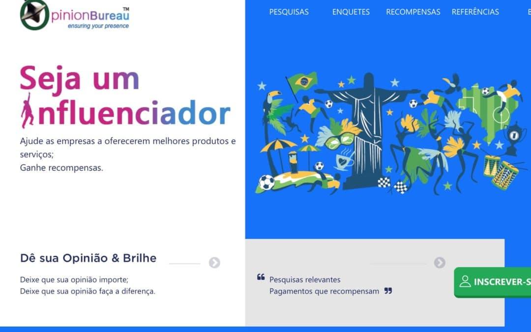 Opinion Bureau Brasil: É confiável? funciona?