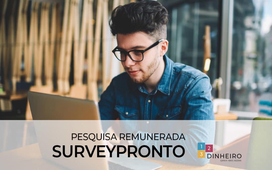 SurveyPronto é confiavel? funciona? Minha opinião