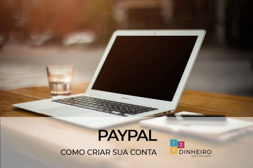 criar sua conta no paypal