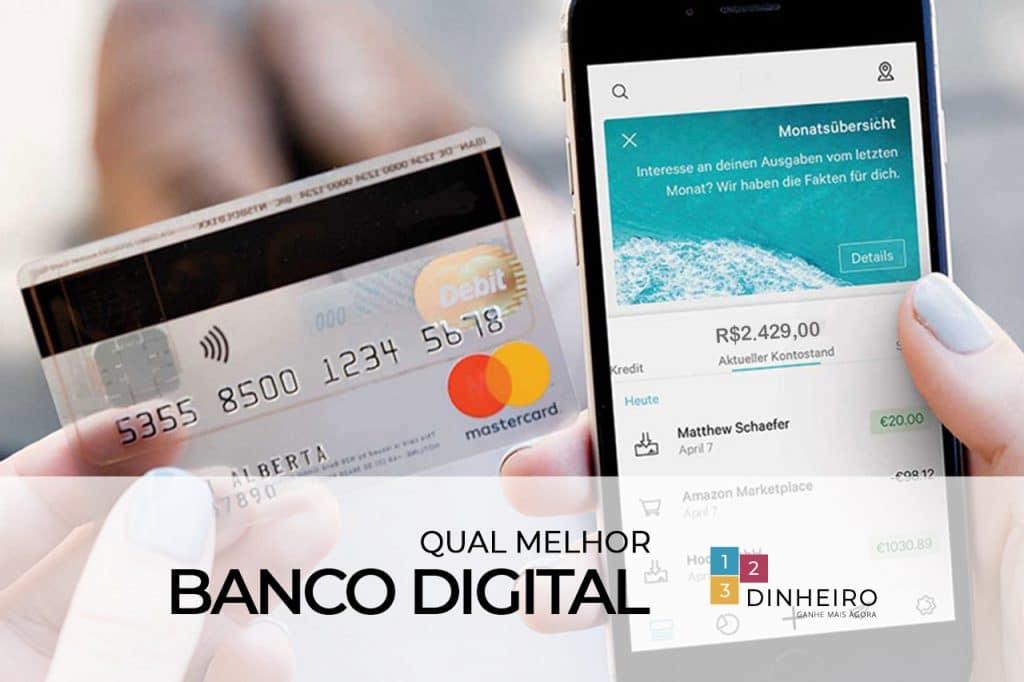 Os Melhores bancos digitais