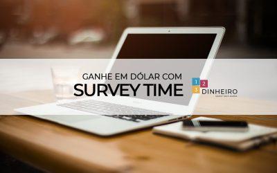 Minha opinião sobre o site SurveyTime, que paga instantaneamente um dólar por pesquisa concluída